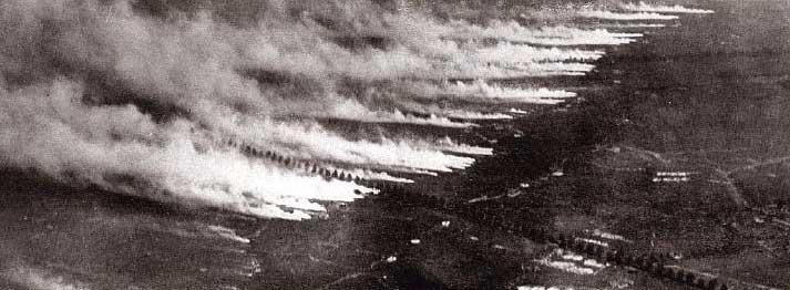 Utilizzo di armi chimiche durante la Prima Guerra Mondiale